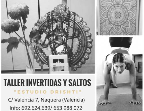 Ashtanga Yoga: TALLER INVERTIDAS Y SALTOS- 06 Mayo